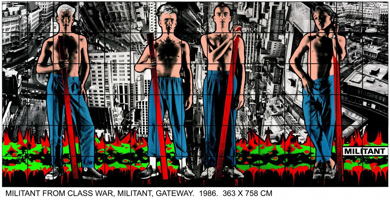 Gilbert & George, Militant