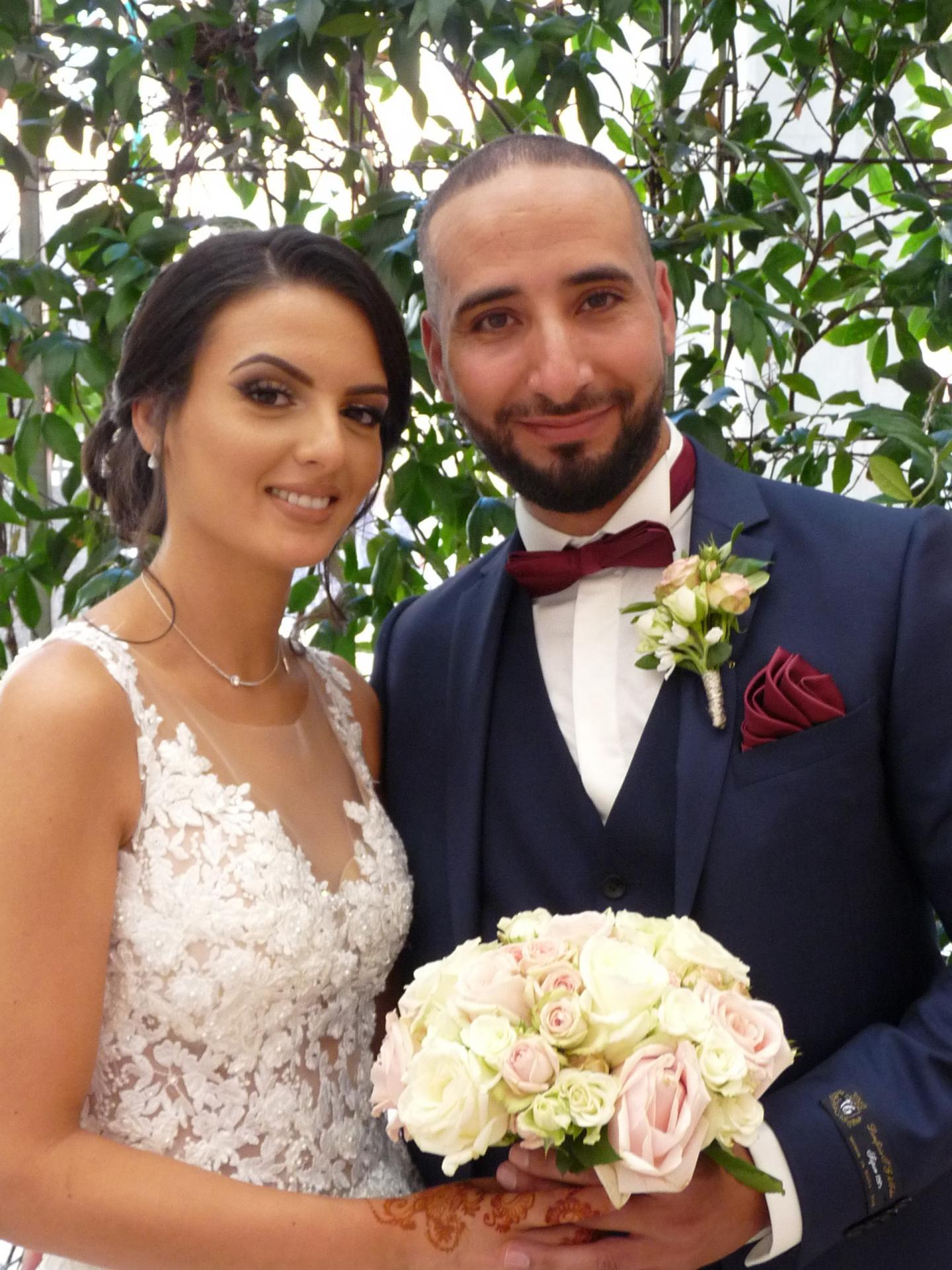 Sarah et Oualid.