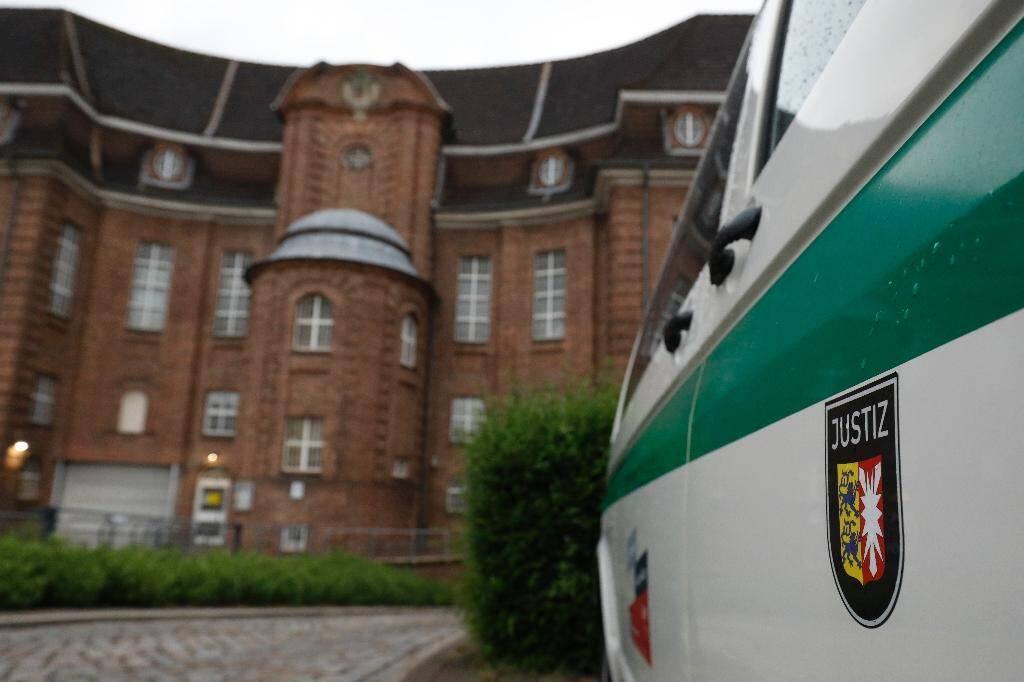 La prison de Kiel où est détenu le suspect dans l'affaire de Maddie McCann, le 4 juin 2020 en Allemagne