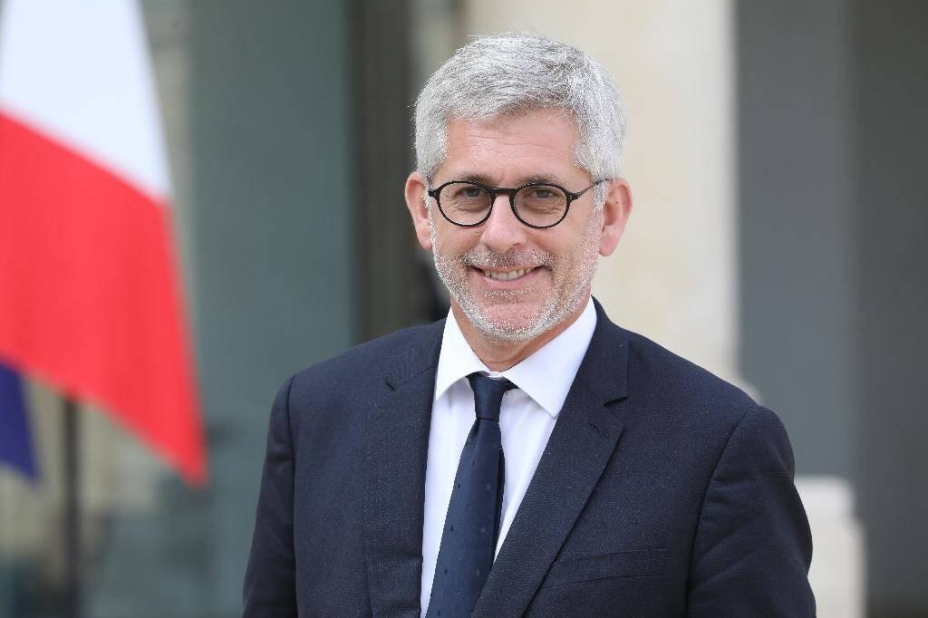 Le président de la Fédération hospitalière de France (FHF, hôpitaux publics), Frédéric Valletoux, le 18 septembre 2018 à Paris
