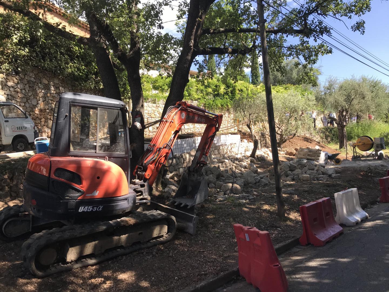 Le jardin de la Fontaine, situé boulevard Schley, va faire peau neuve et sera livré fin septembre.