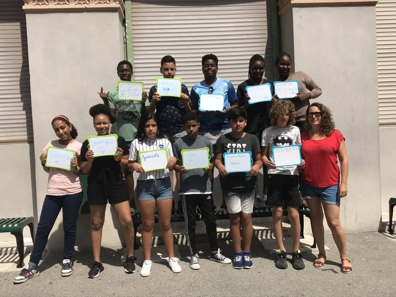 Une vingtaine d'élèves allophones a intégré le dispositif. Deux semaines de cours et de sport pour perfectionner leur français.