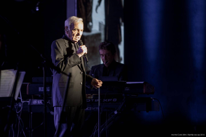 Aznavour en 2016, ultime performance.