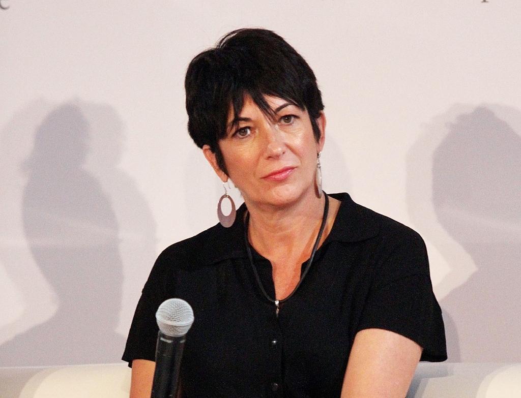 Ghislaine Maxwell lors d'une conférence à New York, le 20 septembre 2013