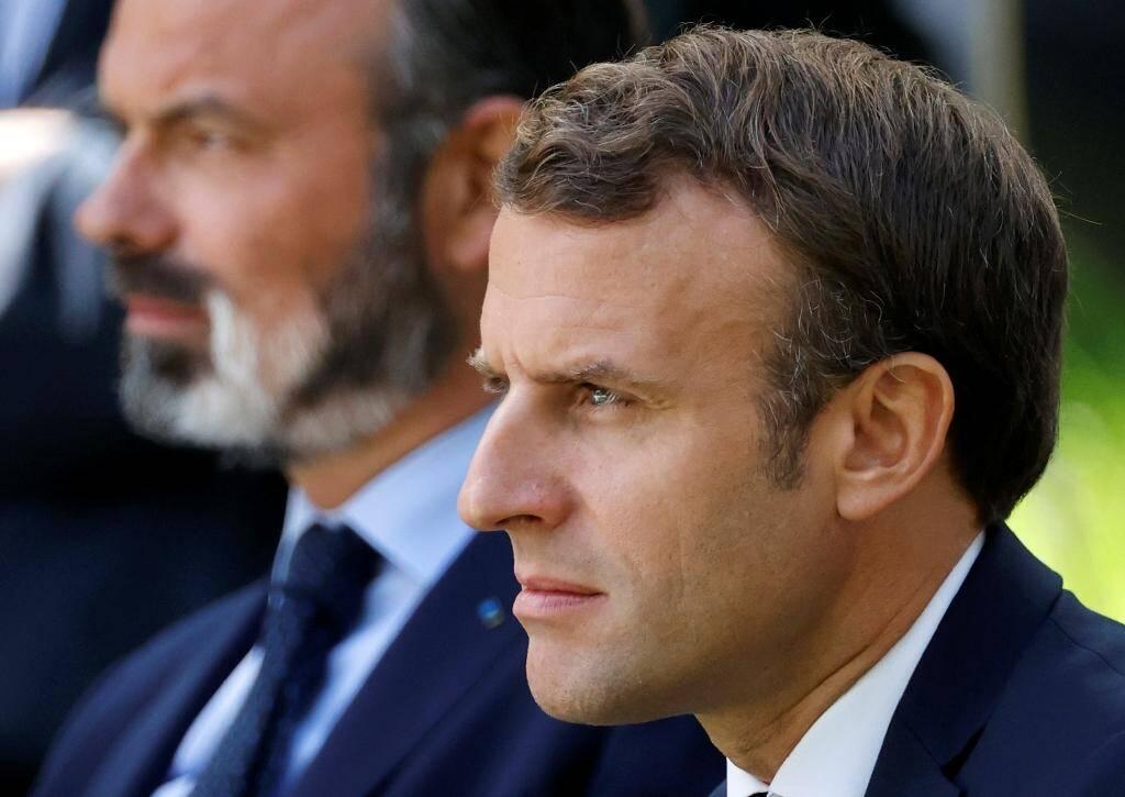 Emmanuel Macron et Edouard Philippe le 29 juin 2020 à Paris