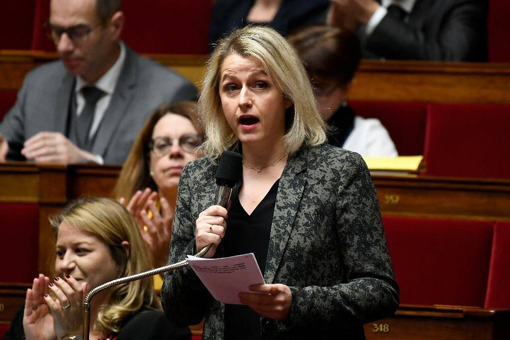 Barbara Pompili le 18 décembre 2018 à l'Assemblée nationale.