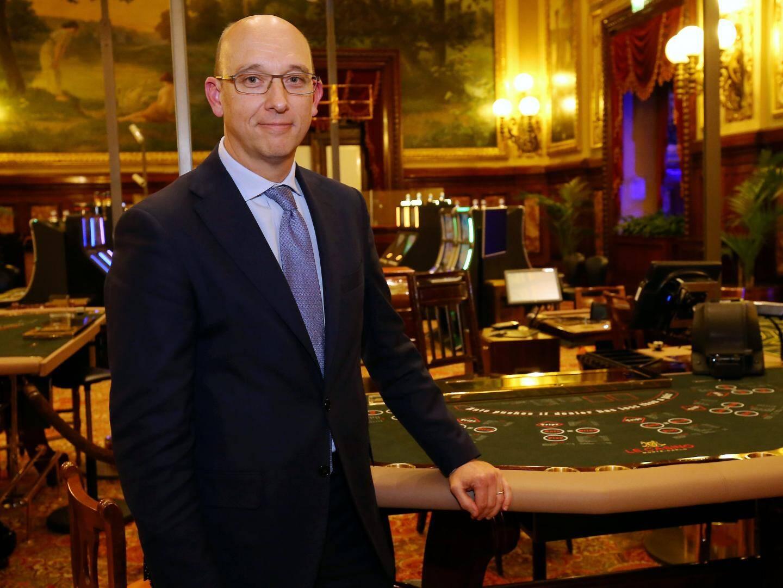 Pascal Camia, directeur des Jeux de la Société des Bains de Mer.