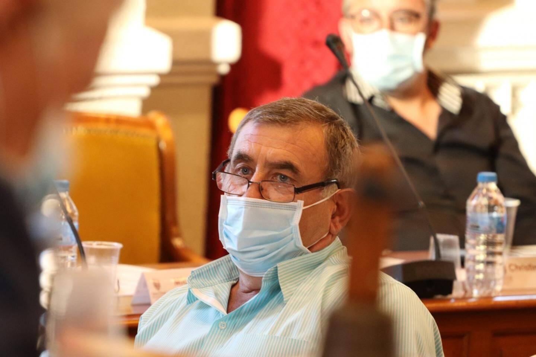 Gérald Pierrugue a refusé la place de douzième président avant de quitter la salle du conseil.