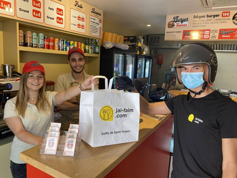 Spécialisé dans le hamburger  « Chez Degun » fait partie des premiers partenaires de jai-faim.com