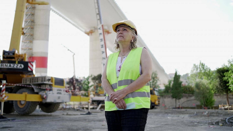 L'architecte Claudia Gallone a participé à la supervision des travaux aux côtés du Commissaire extraordinaire.