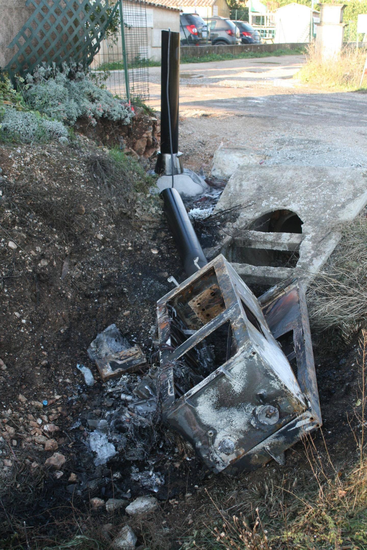 Le radar tourelle avait été sévèrement dégradé en décembre dernier.