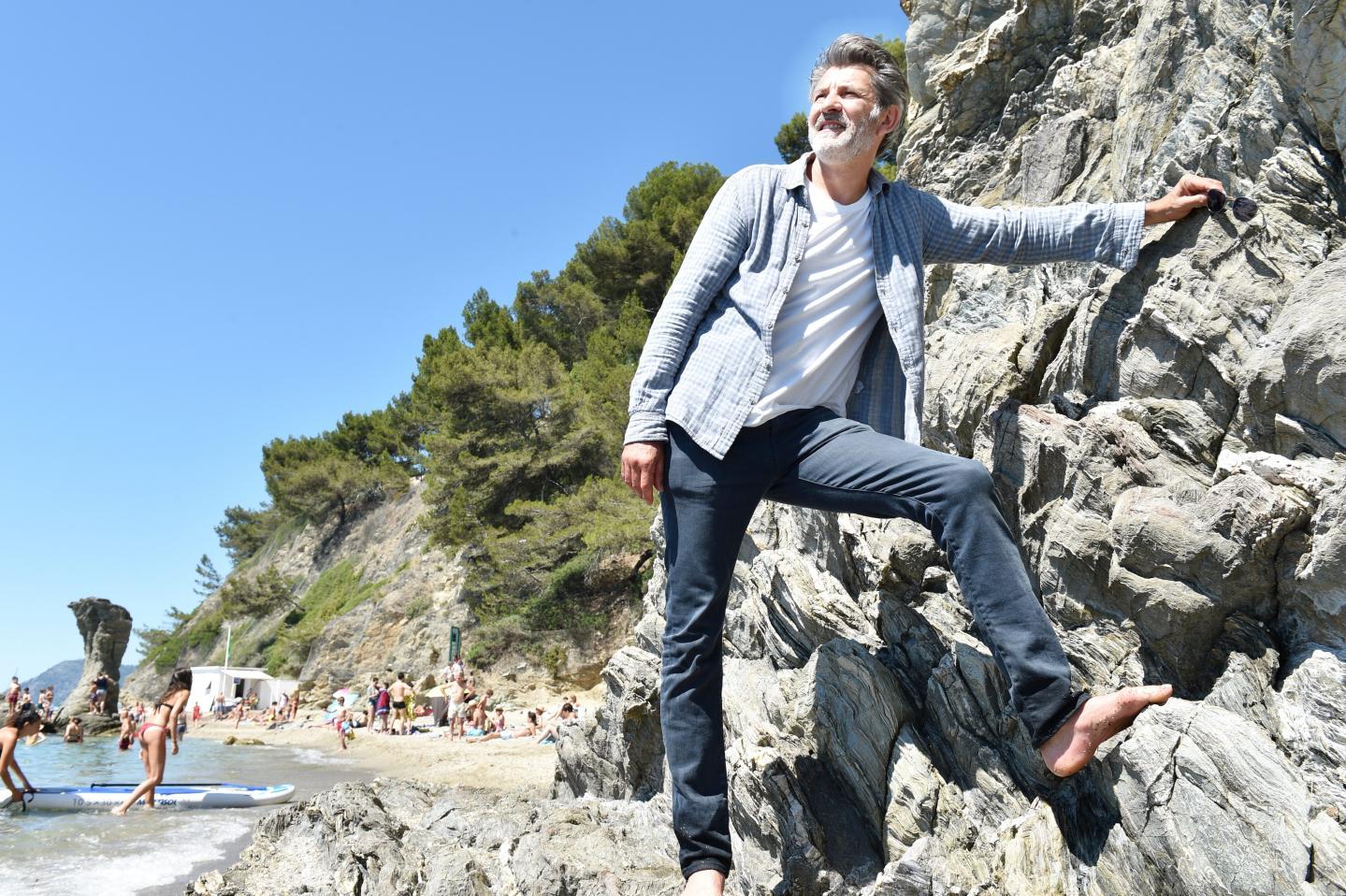 """Le comédien Fred Bianconi, """"Virgile"""" dans la série """"Un si grand soleil"""" sur France 2,  était récemment de passage à Toulon, la ville ou il est né et a grandi."""