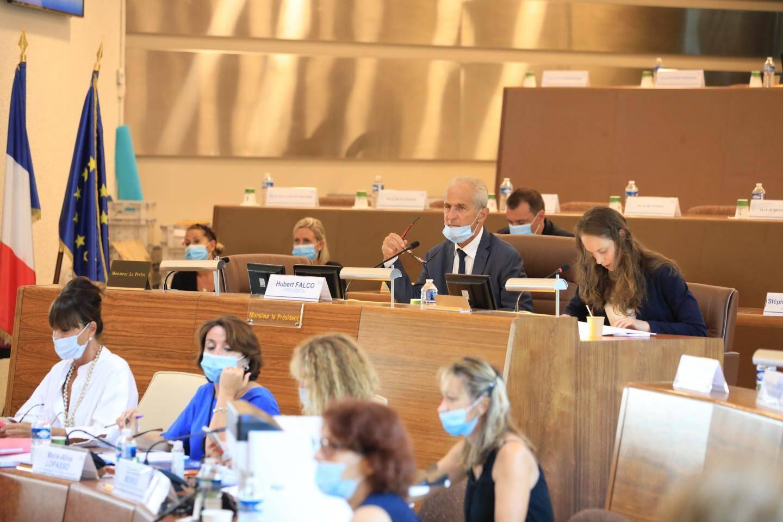 Hubert Falco, président de la métropole, a répété son soutien au projet de la nouvelle ligne.