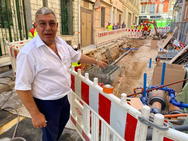 Albert Croesi,  conseiller interministériel auprès du Ministre d'État pour le Plan national du logement des Monégasques, le Cadre de vie et les Relations avec les usagers.
