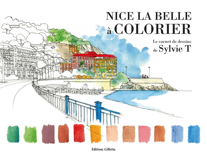 La couverture du carnet de dessins de Sylvie T, artiste niçoise dont l'atelier se situe 14 rue Droite, à Nice.
