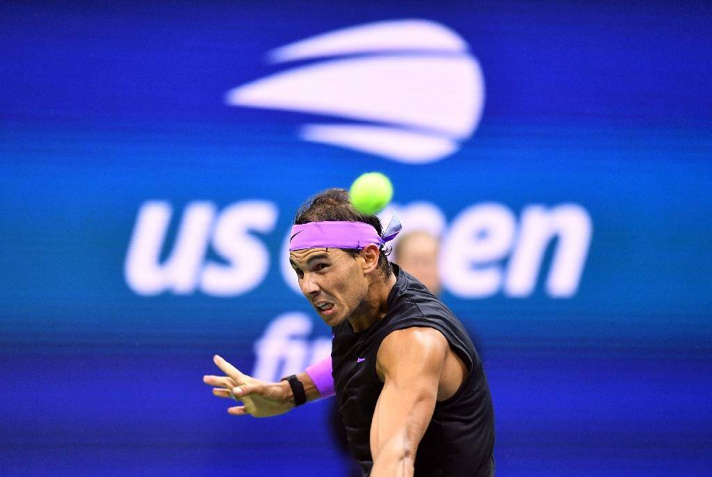 L'Espagnol Rafael Nadal lors de l'US Open 2019, à New York
