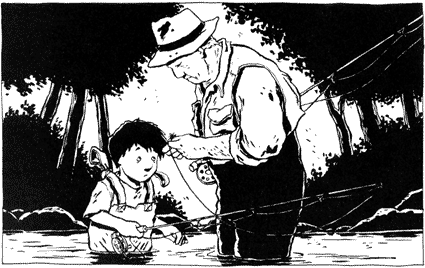 """""""Une histoire de pêche à la mouche avec un petit garçon dont les parents se séparent et qui est accueilli à la campagne. J'aimerais tourner plutôt en Charente, pas loin d'où habite l'auteur installé dans l'île d'Oléron"""""""