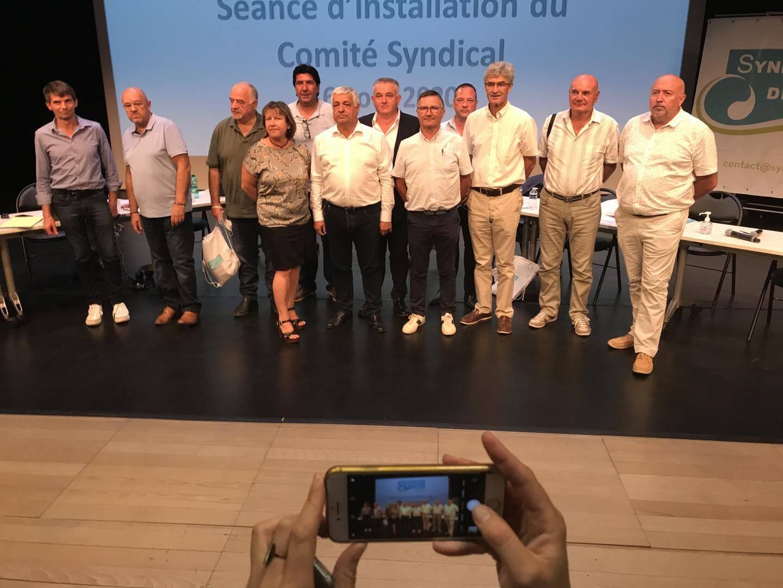 Treize vice-présidents ont été élus, hier, par le comité syndical.