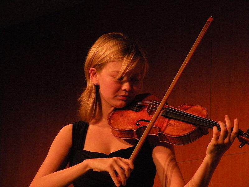 La violoniste russe Alina Ibragimova.