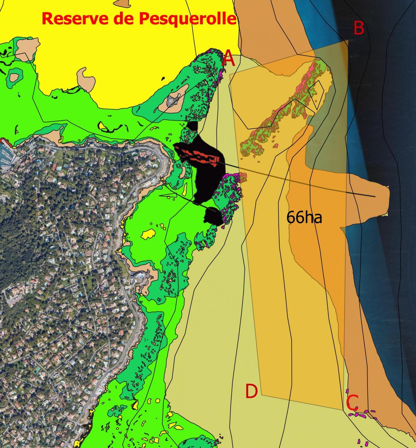 La zone de soixante-six hectares restera accessible aux plongeurs.