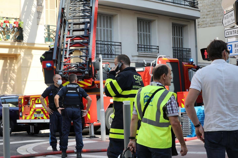 L'explosion est survenue au rez-de-chaussée d'un immeuble de quatre étages.
