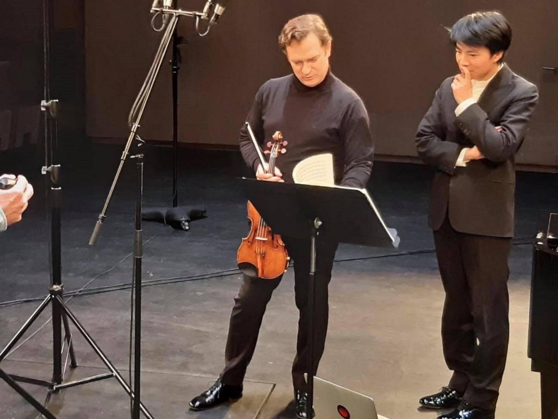 Renaud Capuçon et Kit Armstrong avaient déjà interprété ensemble l'intégrale des sonates de Beethoven en 2019.