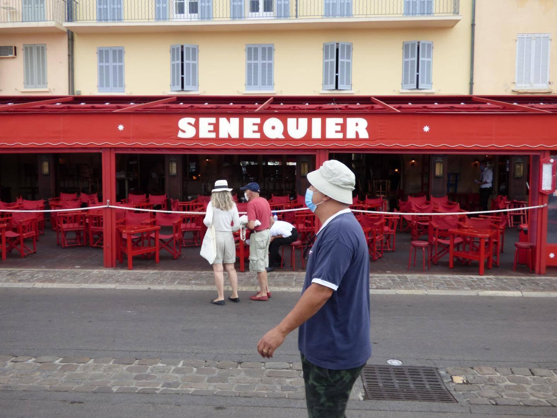 Sénéquier, une adresse emblématique du port de Saint-Tropez.