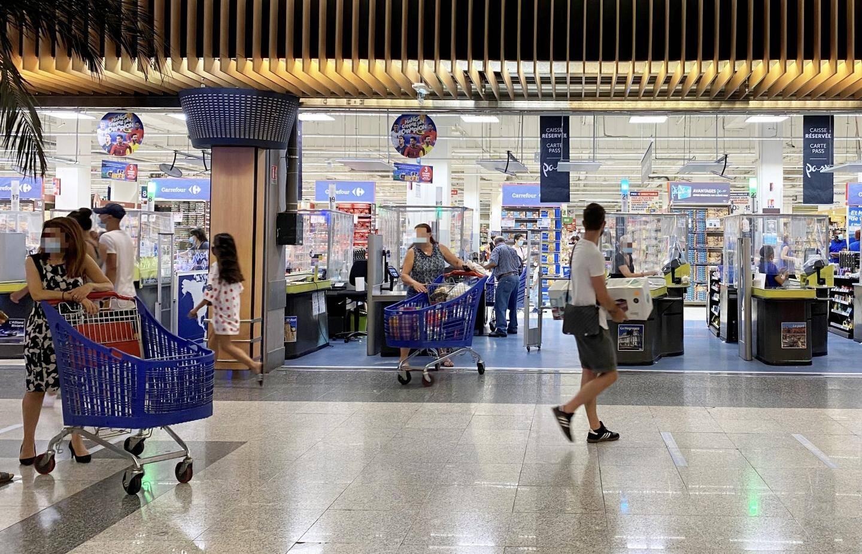 Une dizaine de cas positifs se sont déclarés parmi les salariés de l'enseigne Carrefour, à Nice TNL.