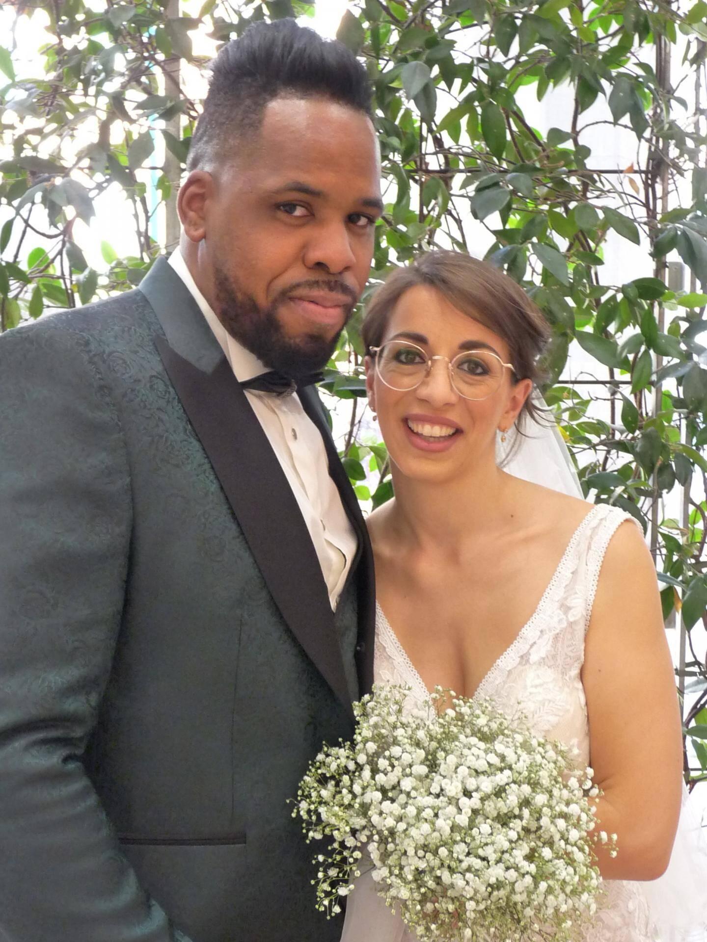 Michael Lellis, employé commercial, et Madeline Toussaint, assistante de direction.