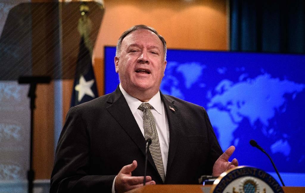 Le sercétaire d'Etat américain Mike Pompeo, à Washington le 2 septembre 2020
