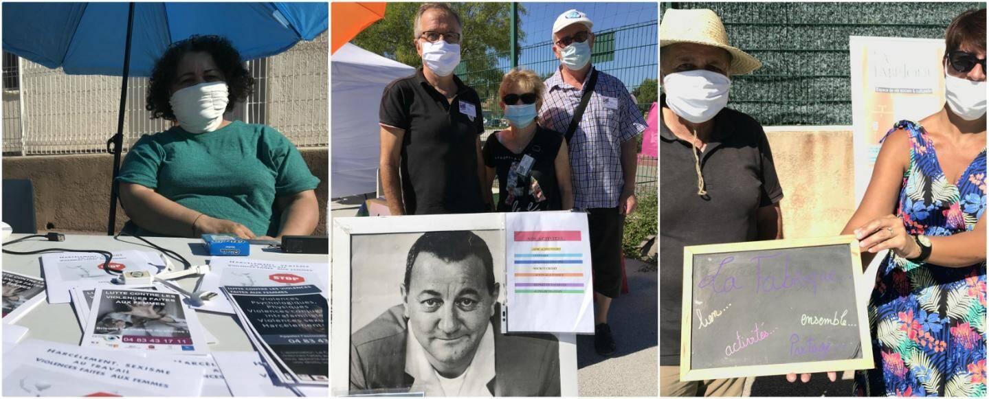 Les bénévoles du Cap, des Restos du cœur et de la Fabrique étaient au rendez-vous samedi au Complexe Saint-Exupery