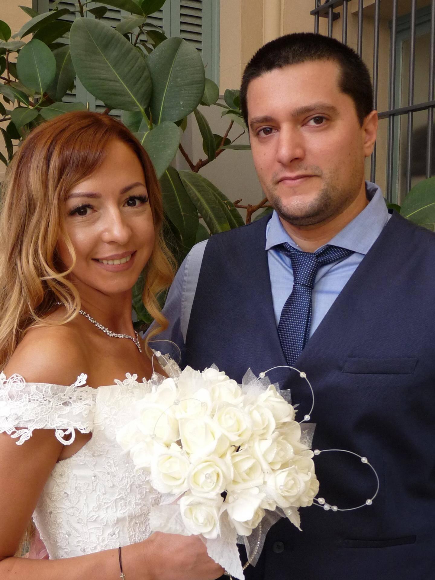 Dilyana Dimitrova, réceptionniste, et Sébastien Prompt, conducteur de travaux.