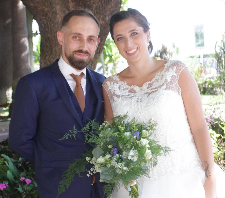 Julien Gaïtanaros, responsable technique, né à Montargis (Loiret) et Stéphanie Moretti, technicienne de laboratoire, née à Cannes