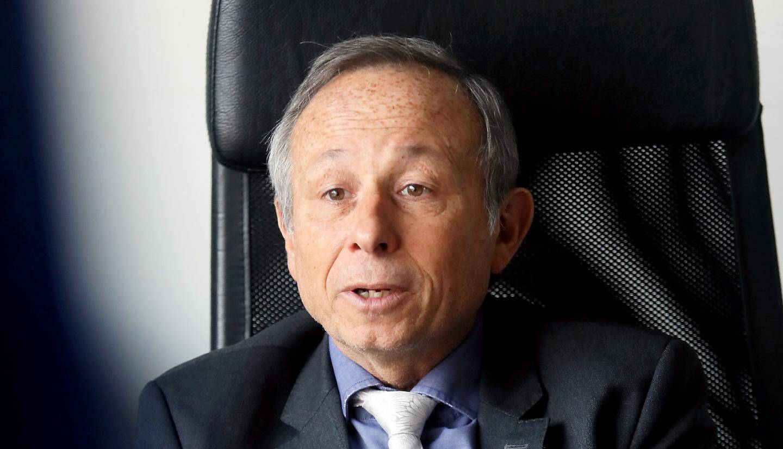 Christian Simon, maire de La Crau.