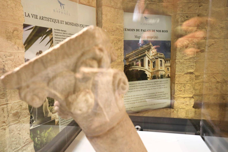 L'exposition ''Demeures et jardins de la Belle Époque''.