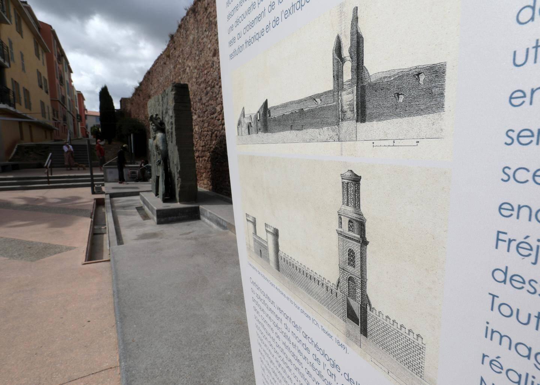 L'expo dans le centre ville de Fréjus se poursuit jusqu'au 31 octobre.
