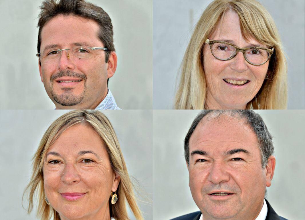 Scission dans l'opposition. Lionel Dolciani, Valérie Brunelli-Gorzegno, Martine Gibelin et Philippe Touzeau-Ménoni fondent un nouveau groupe.