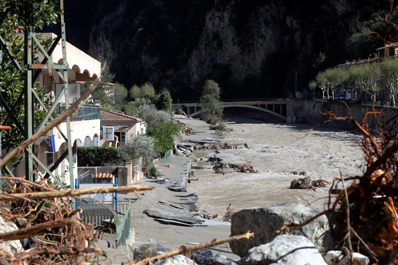 À Breil (notre photo), comme à Saorge, Fontan et La Brigue, le réseau d'approvisionnement en eau a été détruit.