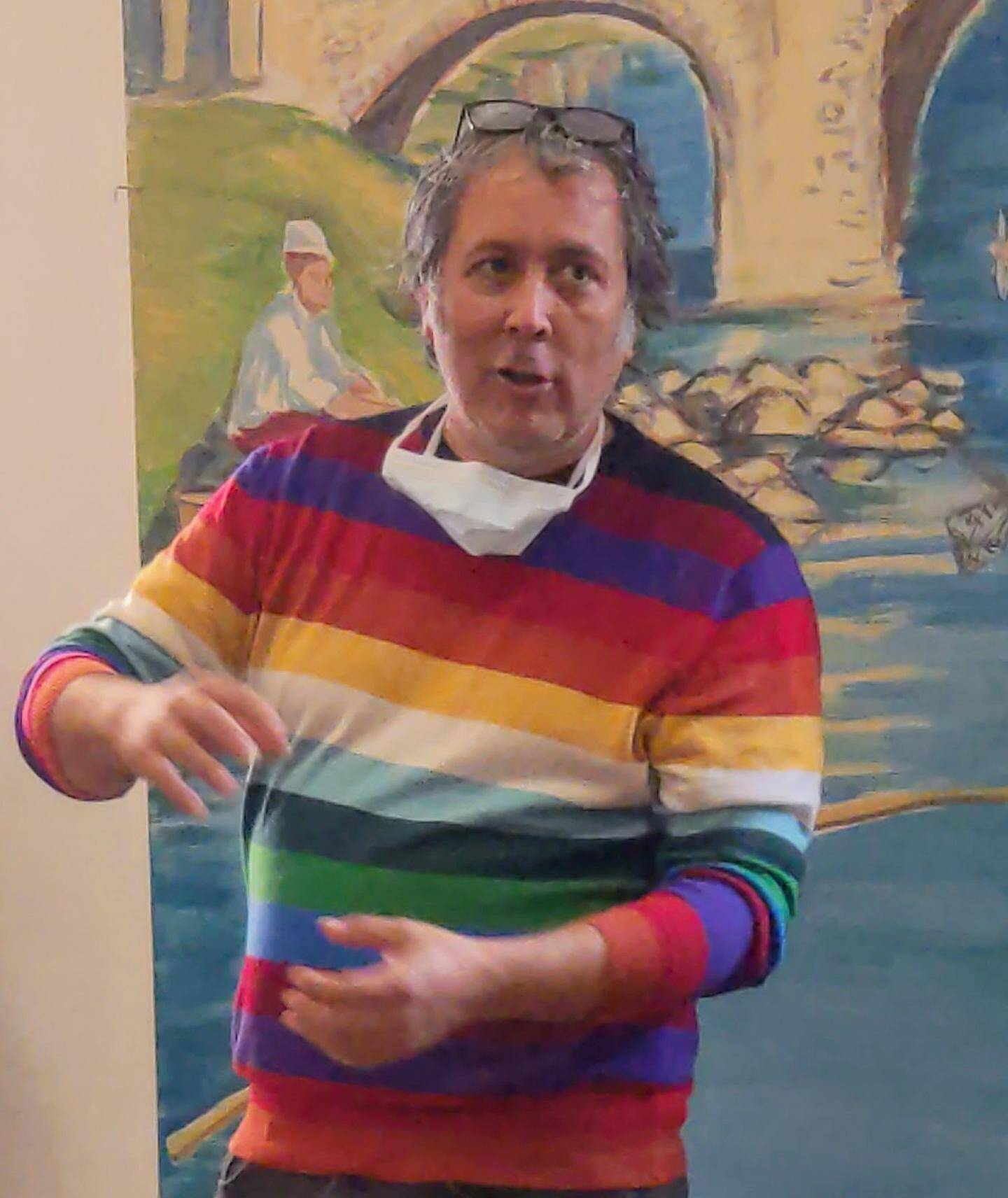 David Michael Clarke a présenté son application numérique.