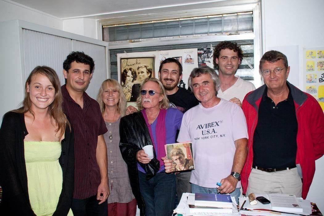 Le chanteur Christophe était venu à Agora, il y a une dizaine d'années, pour le 15e anniversaire de l'émission « L'oreille qui gratte ».