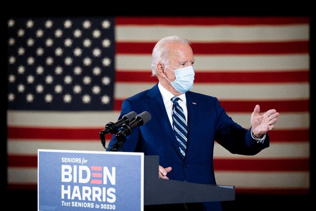 Joe Biden à Fort Lauderdale, le 13 octobre 2020 en Floride