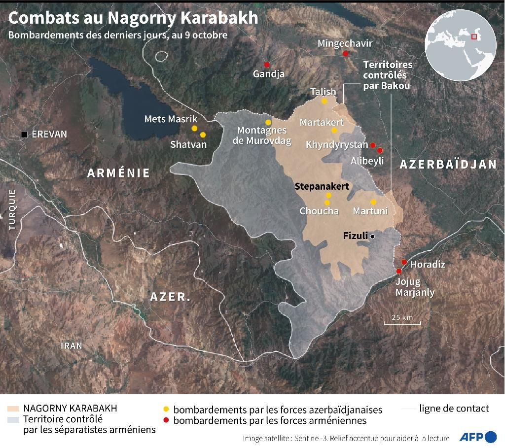 Combats au Nagorny Karabakh