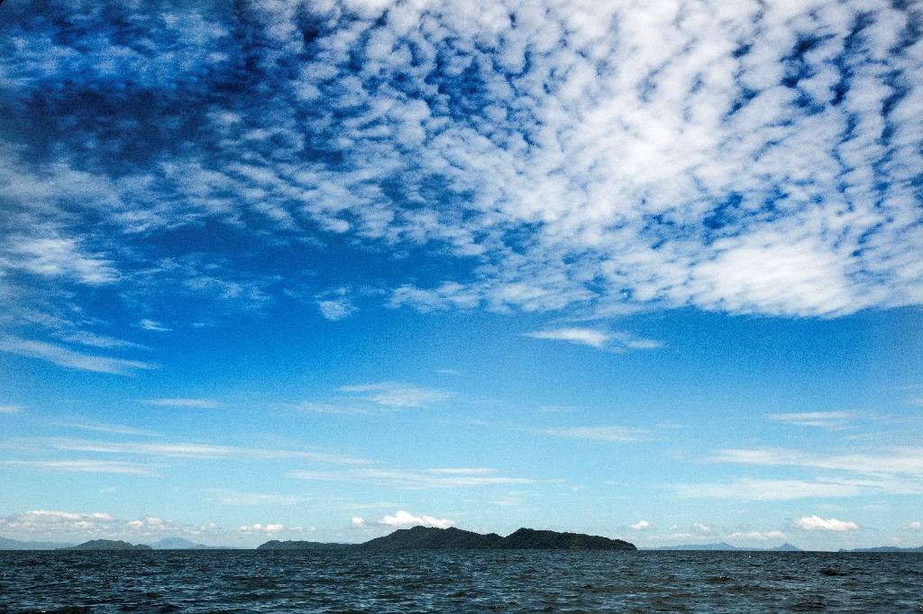 L'île de San Lucas, dans le Golfe de Nicoya, le 26 septembre 2020 au Costa Rica