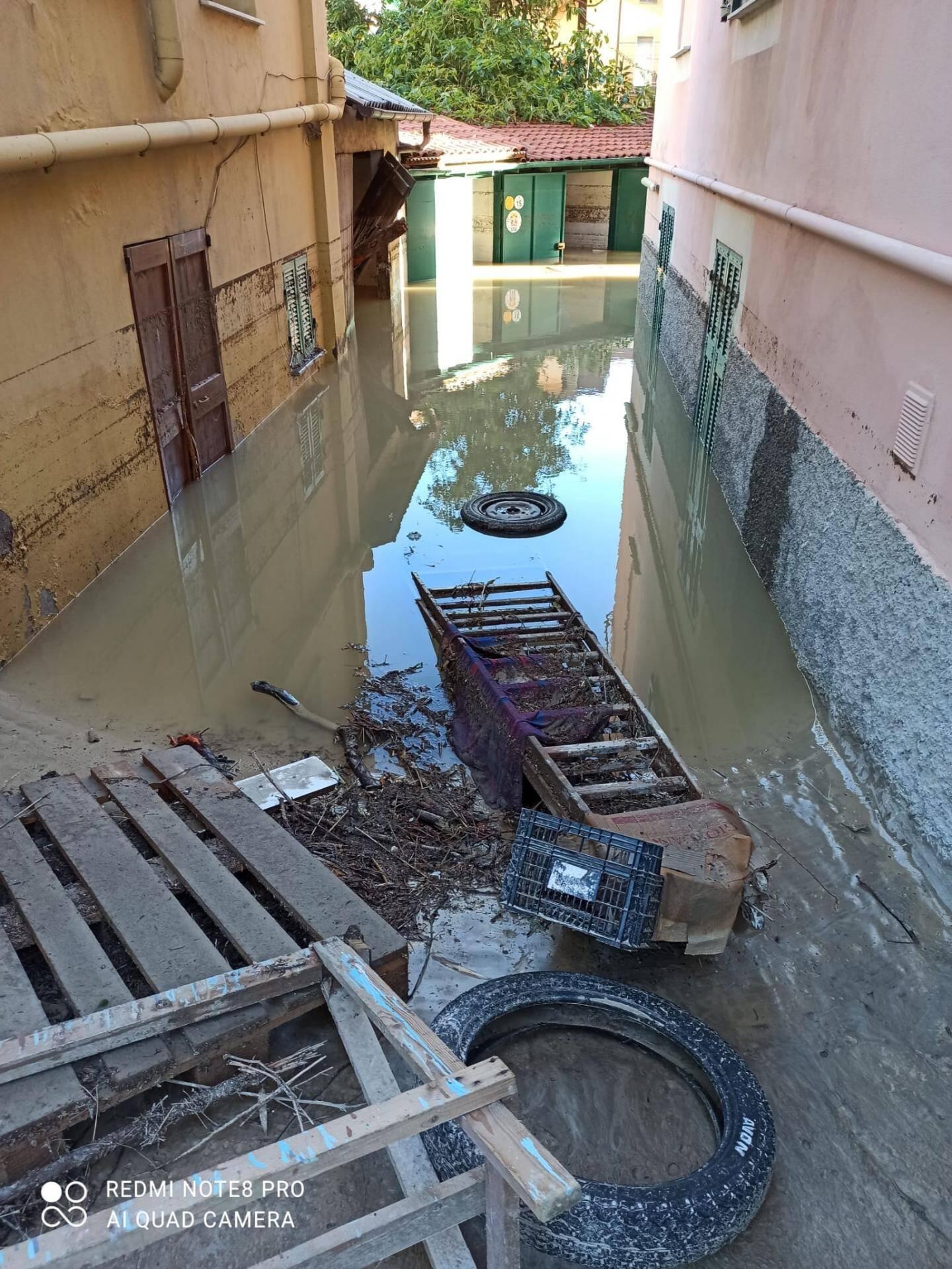 Au petit matin, les habitants ont découvert l'ampleur des dégâts.