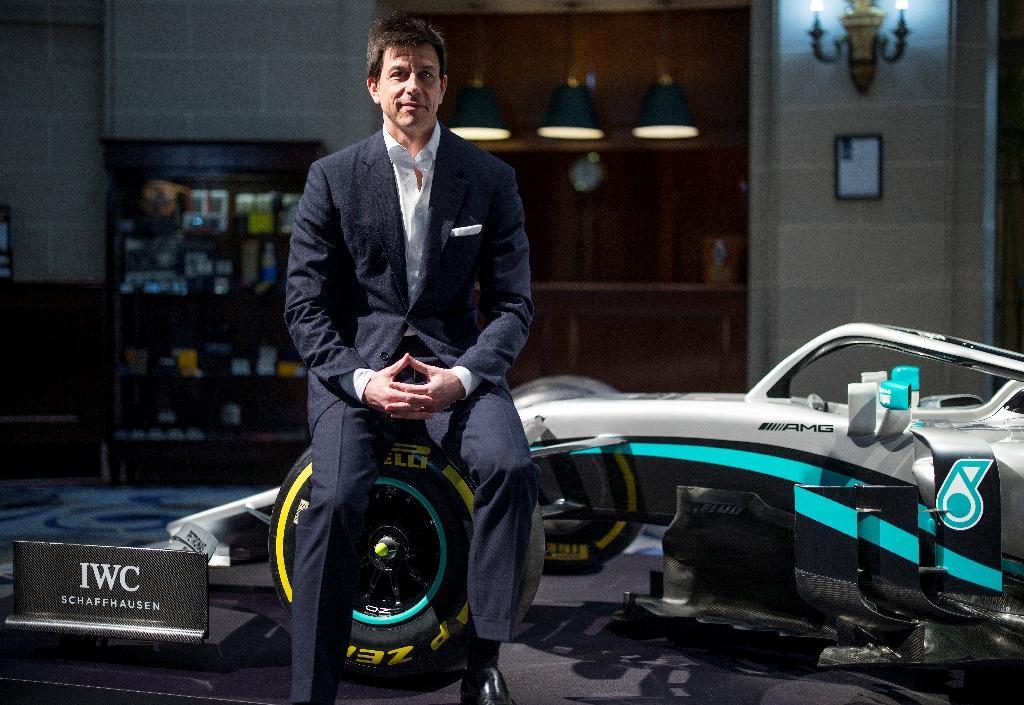 Le team manager de Mercedes Toto Wolff à Londres, le 10 février 2020