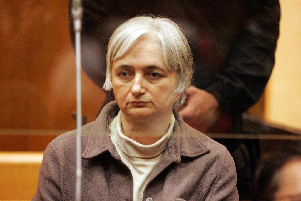 Monique Olivier, ex-épouse de Michel Fourniret, au tribunal à Charleville-Meziere, le 29 mai 2008