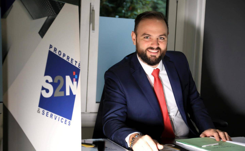 Laurent Deveau, directeur associé de S2N basée à Nice, aimerait que les métiers de la propreté soient un choix plutôt qu'un ultime recours.