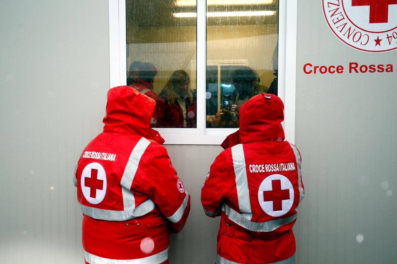 La Croix-Rouge travaille sur l'intégration. Illustration.