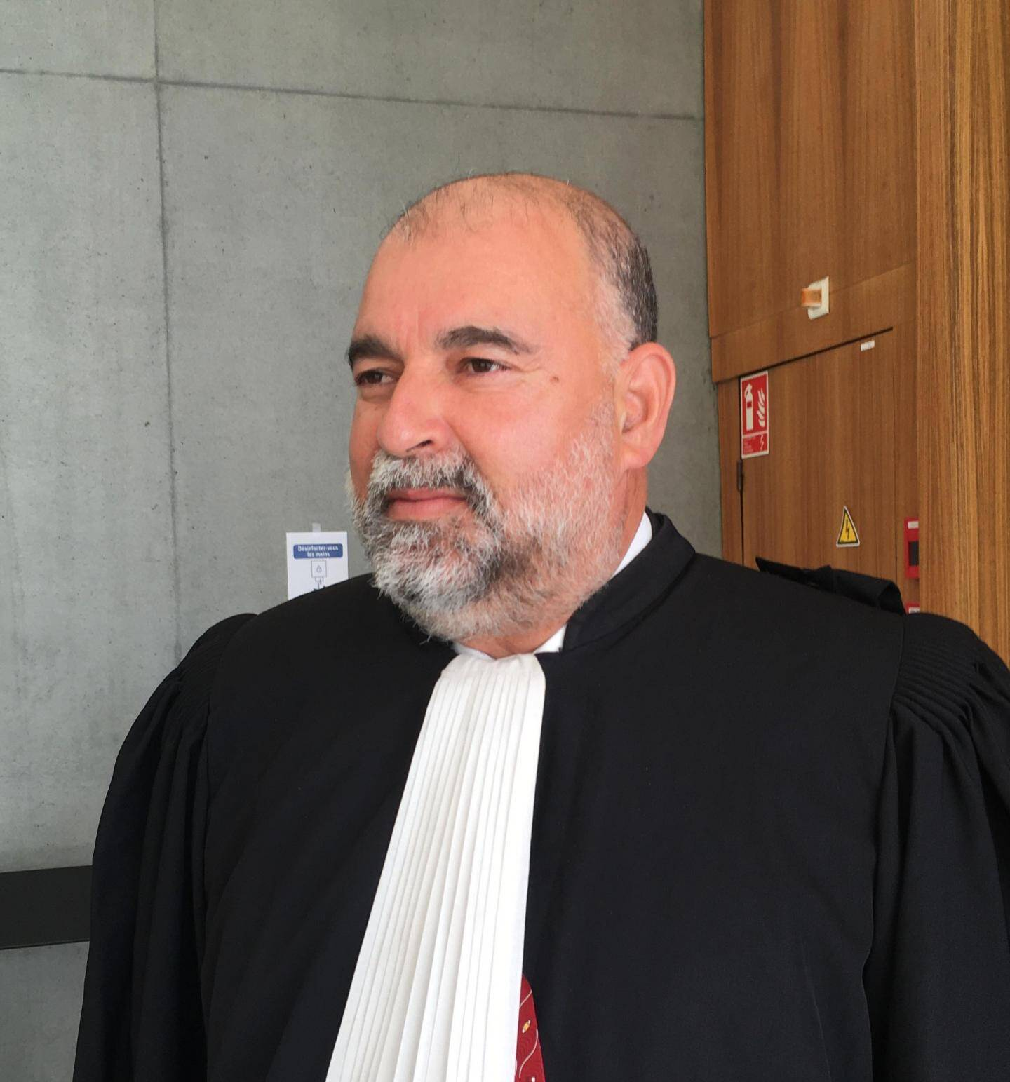 Me Adam Krid, avocat de la défense.