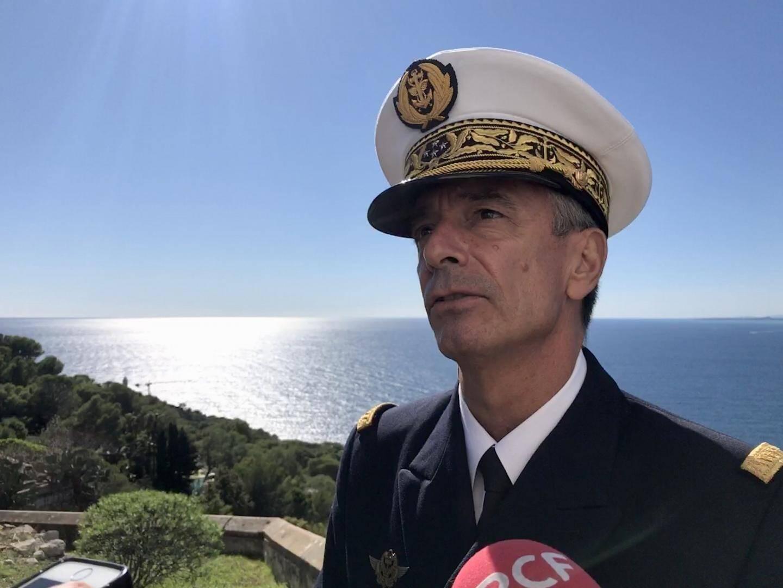 Le préfet maritime de la Méditerranée, Laurent Isnard.